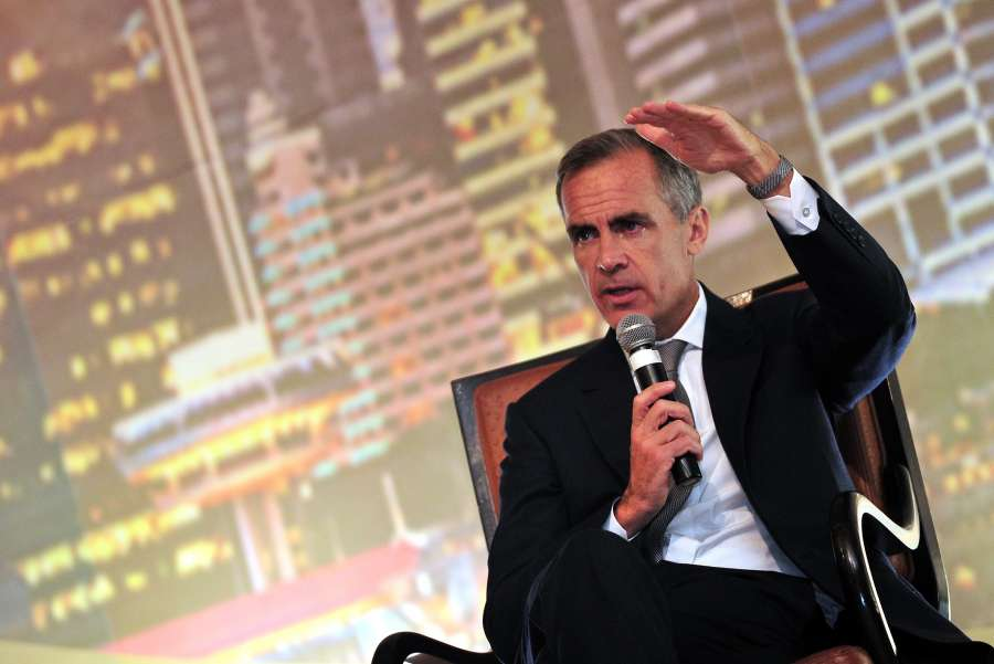 SINGAPORE-BANK OF ENGLAND GOVERNOR-LECTURE by .