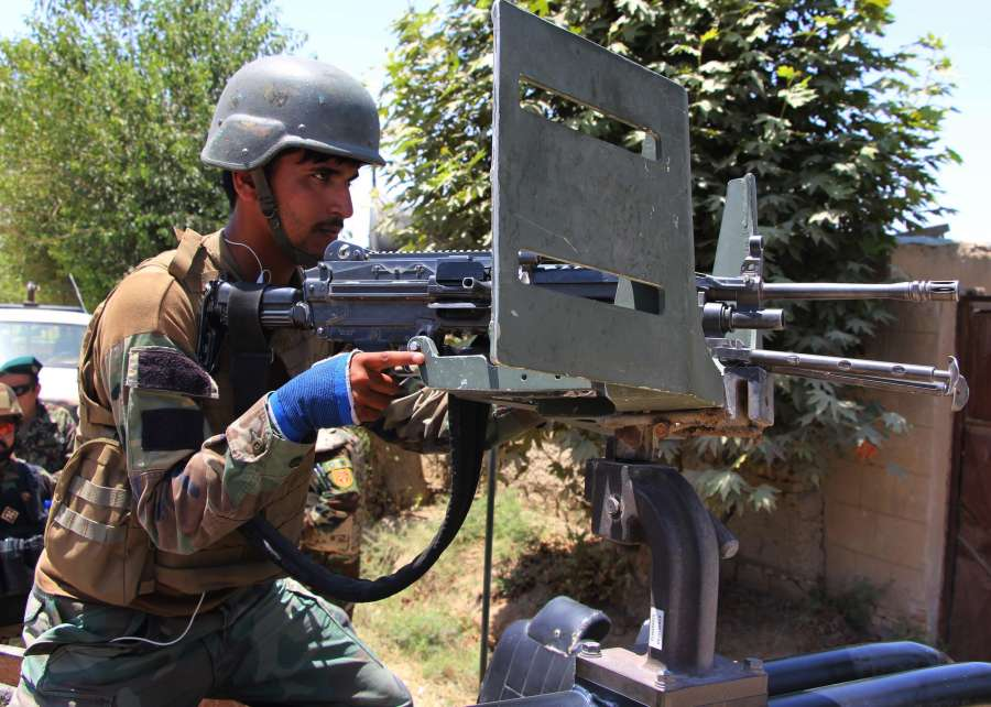AFGHANISTAN-KUNDUZ-MILITARY OPERATION-RESUMPTION by .