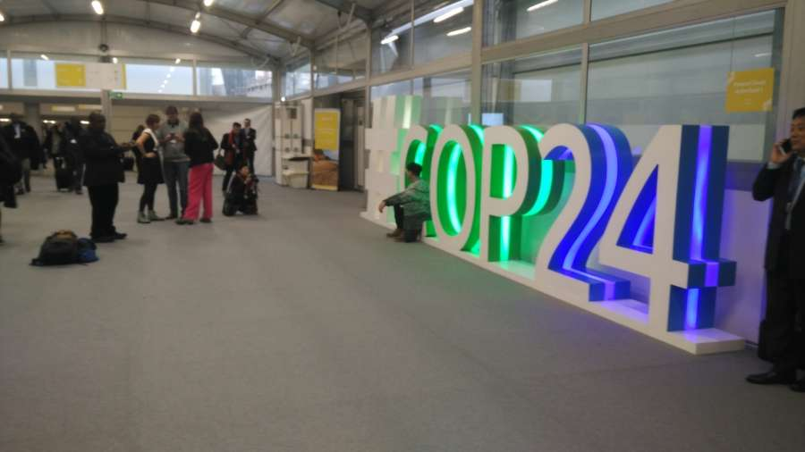 UN Climate Change Conference in Katowice in Poland. by .