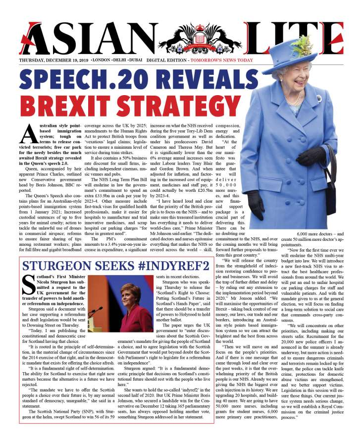 Queen's speech 2.0