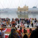 Amritsar: Sikh devotees throng the Golden Temple on during the 550th birth anniversary celebrations of Guru Nanak Dev in Amritsar on Nov 12, 2019. (Photo: IANS) by .