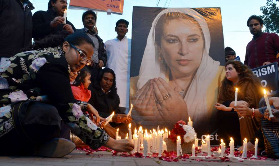 PAKISTAN-LAHORE-BENAZIR BHUTTO-ASSASSINATION-ANNIVERSARY by .