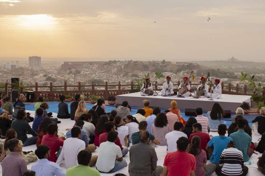 Rajasthan International Folk Festival. (File Photo: IANS) by .