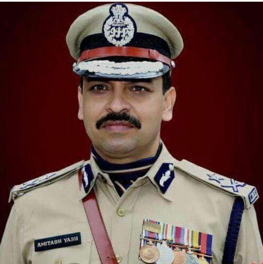 Mumbai: Uttar Pradesh Special Task Force chief Amitabh Yash. (File Photo: IANS) by .
