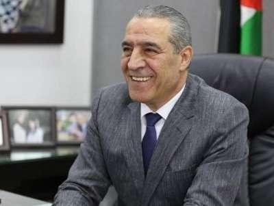 Palestinian Civil Affairs Minister Hussein al-Sheikh. by .