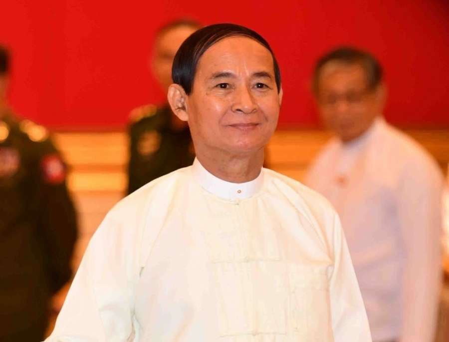 U Win Myint. (File Photo: IANS) by .