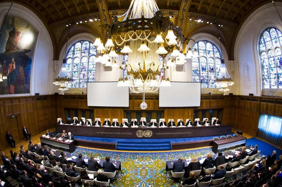International Court of Justice. (Photo Courtesy: ICJ) by .