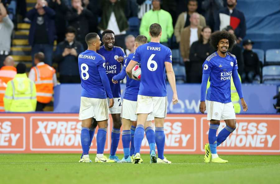 Leicester City v Newcastle United - Premier League by .