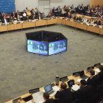 Paris: Day 1 of the Financial Action Task Force (FATF) Plenary meeting underway in Paris on Feb 21, 2018. Delegates are working through a full agenda that includes terrorist financing. (Photo: Twitter/@FATFNews) by .