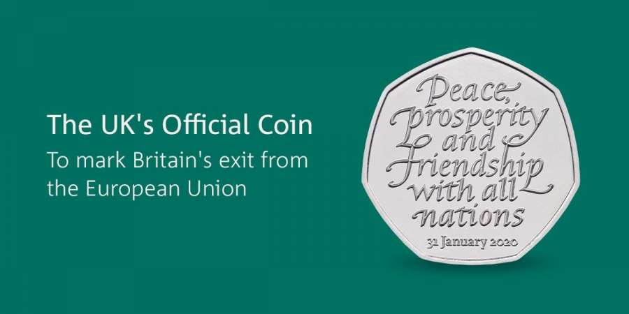 Brexit Coin by .