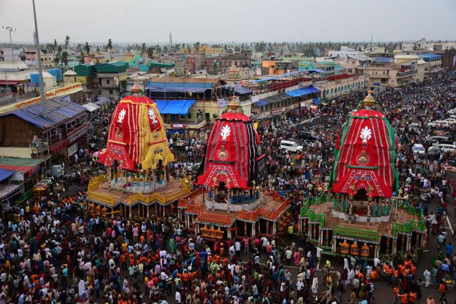 Jagannath Rath Yatra. (File Photo: IANS) by .