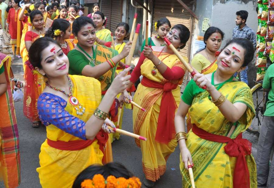 Basanta Utsav. (File Photo: IANS) by .