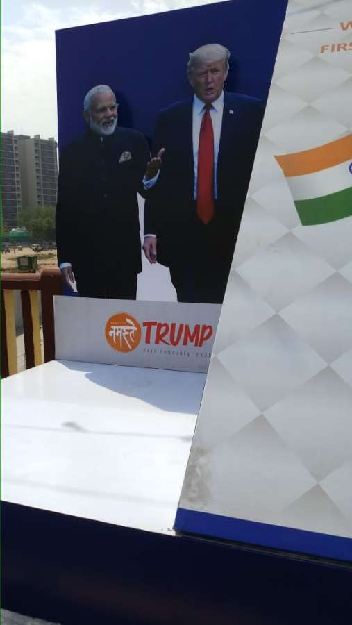 Ahmedabad ready to say Namaste Trump amid tight security. by .