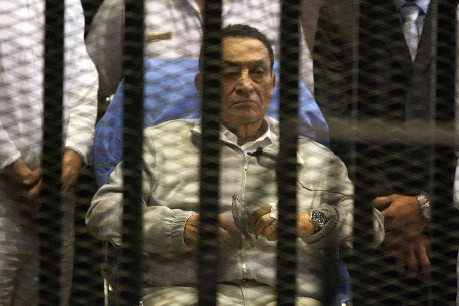 Mixed Parole Decision For Mubarak by .