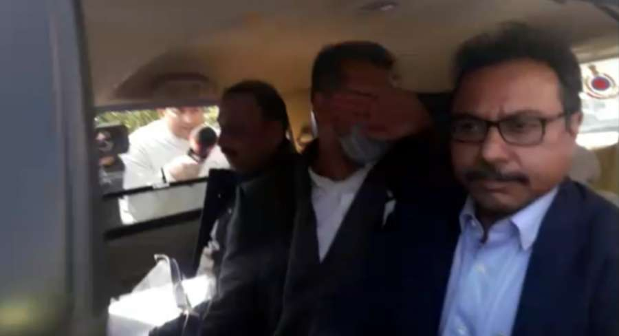 New Delhi: Sanjeev Chawla, the alleged mastermind of match-fixing case being accompanied by a crime branch team from London arrives at Indira Gandhi International Airport on Feb 13, 2020. (Photo: Sanjeev Kumar Singh Chauhan/IANS) by .