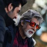 "Megastar Amitabh Bachchan , who recently shot for the upcoming film ""Brahmastra"" in Manali, shared behind-the-scenes photographs from the sets. In one of the images, he can be seen standing besides his co-star Ranbir Kapoor. by ."