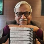 Ashwini Bhatnagar, author of the recently released 'The Lotus Years, Political Life in India in the Time of Rajiv Gandhi'. by .