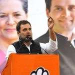New Delhi: Congress leader Rahul Gandhi addresses a gathering at a public meeting organised ahead of the February 8 Delhi Assembly elections, at Delhi's Kondli on Feb 5, 2020. (Photo: IANS) by .