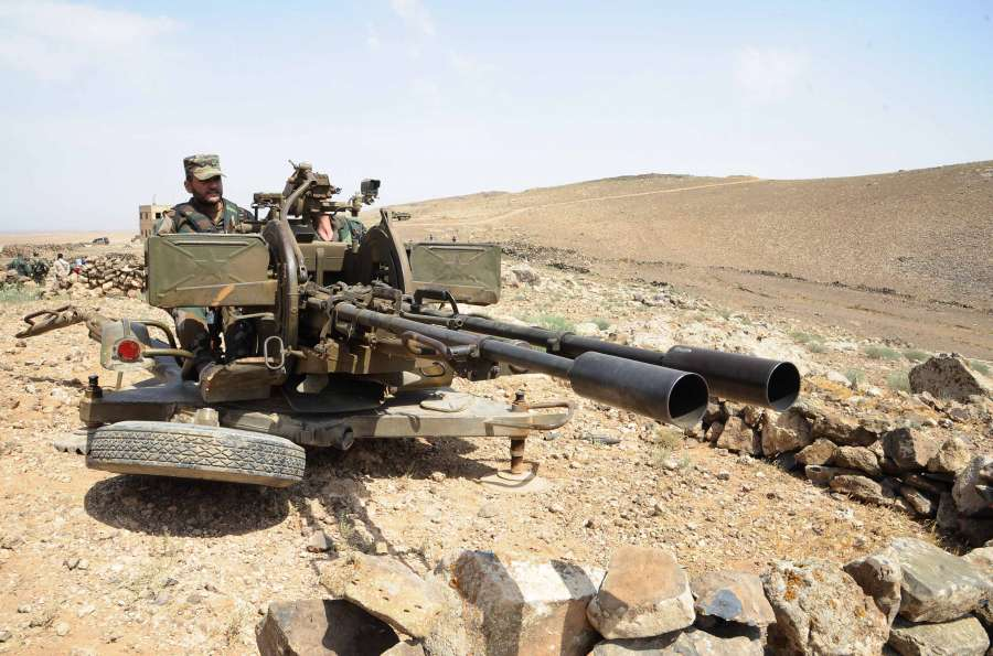 SYRIA-SWEIDA-MILITARY OPERATION-AGAINST-ISLAMIC STATE by .