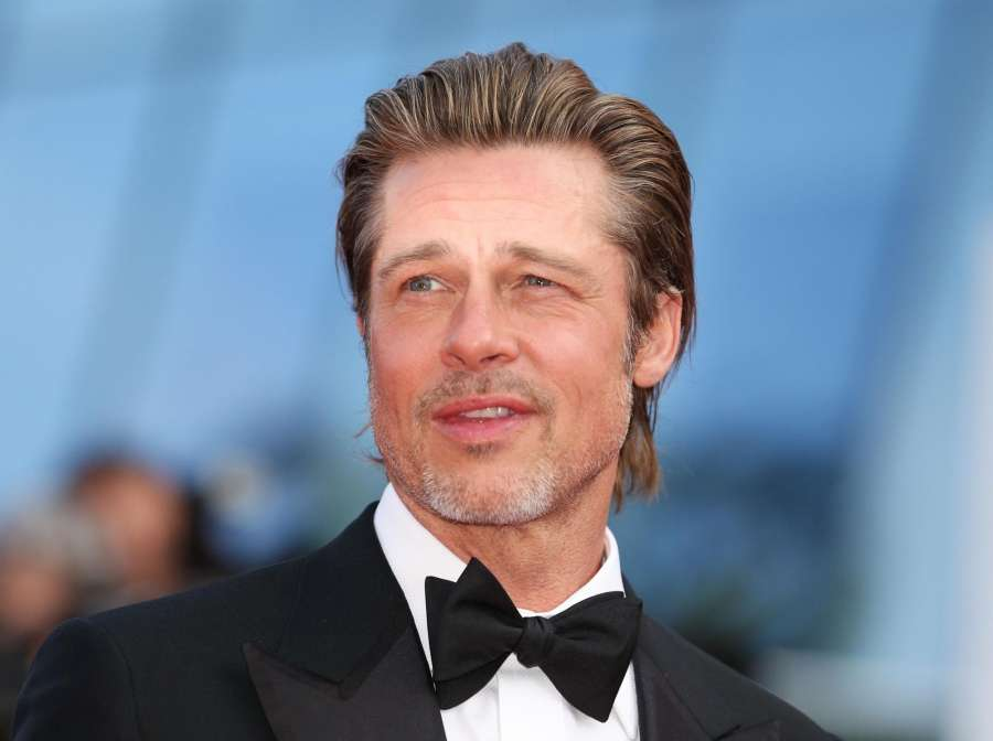 """CANNES, May 22, 2019 (Xinhua) -- Actor Brad Pitt attends the premiere of Quentin Tarantino-directed film """"Once Upon a Time in Hollywood"""" during the 72nd Cannes Film Festival in Cannes, France, May 21, 2019. """"Once Upon a Time in Hollywood"""" will compete for the Palme d'Or with other 20 films. (Xinhua/Gao Jing/IANS) by ."""