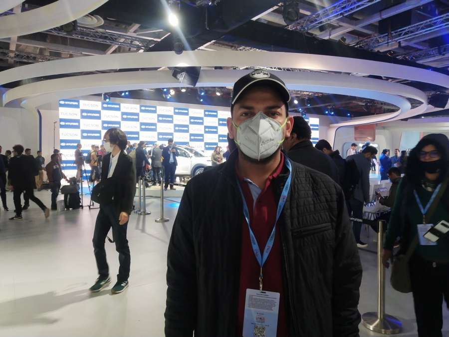 Coronavirus fear grips Auto Expo 2020, masks all over by .
