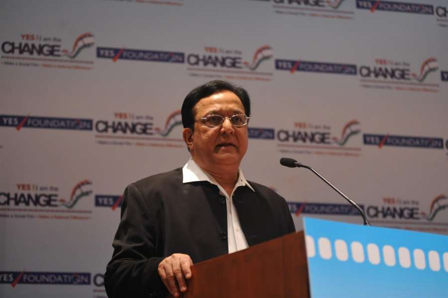 MD and CEO of Yes Bank Rana Kapoor during the inauguration of YES I AM THE CHANGE Film Festival at Nehru Center in Mumbai on October 1, 2013. (Photo: IANS) by .