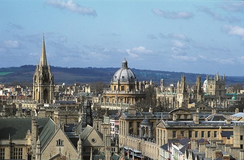 Oxford University. by .