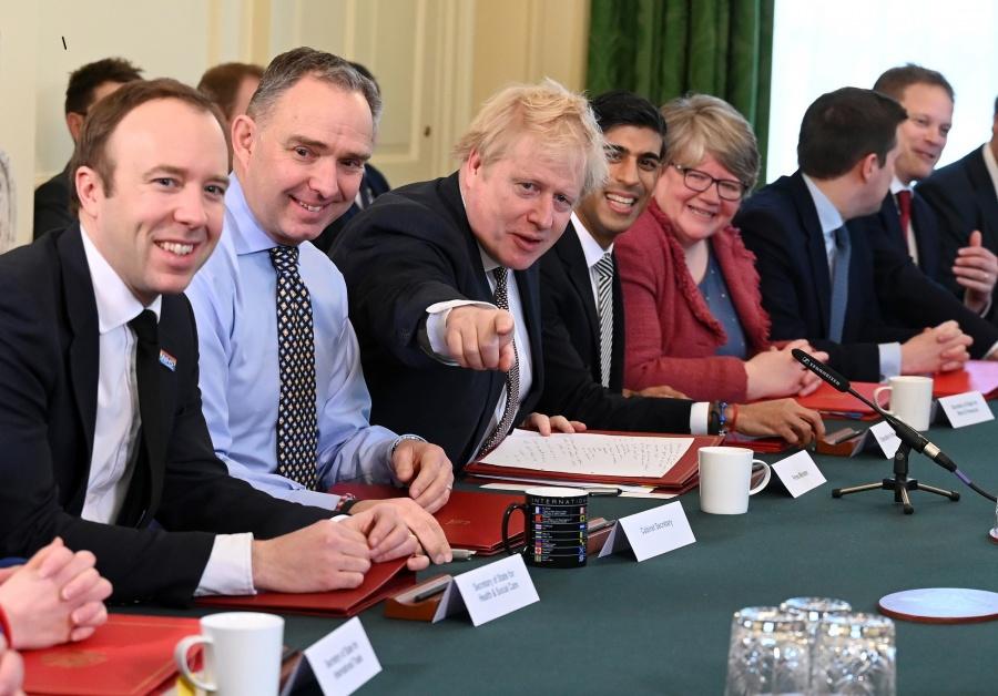 Boris Johnson's Cabinet Meeting by .