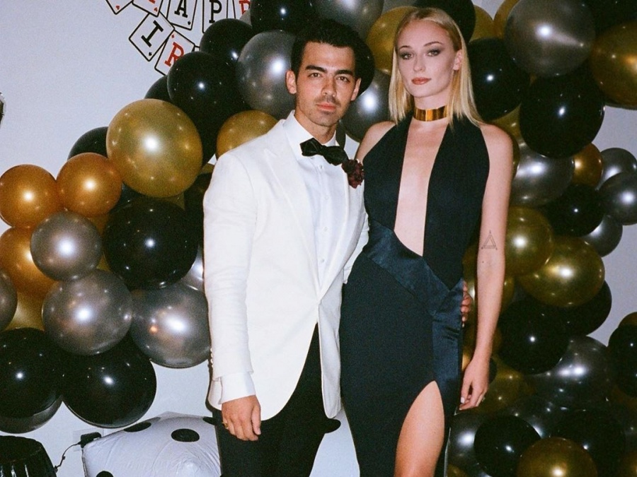 "Singer Joe Jonas marked his 30th birthday with a ""James Bond"" themed birthday party. by ."