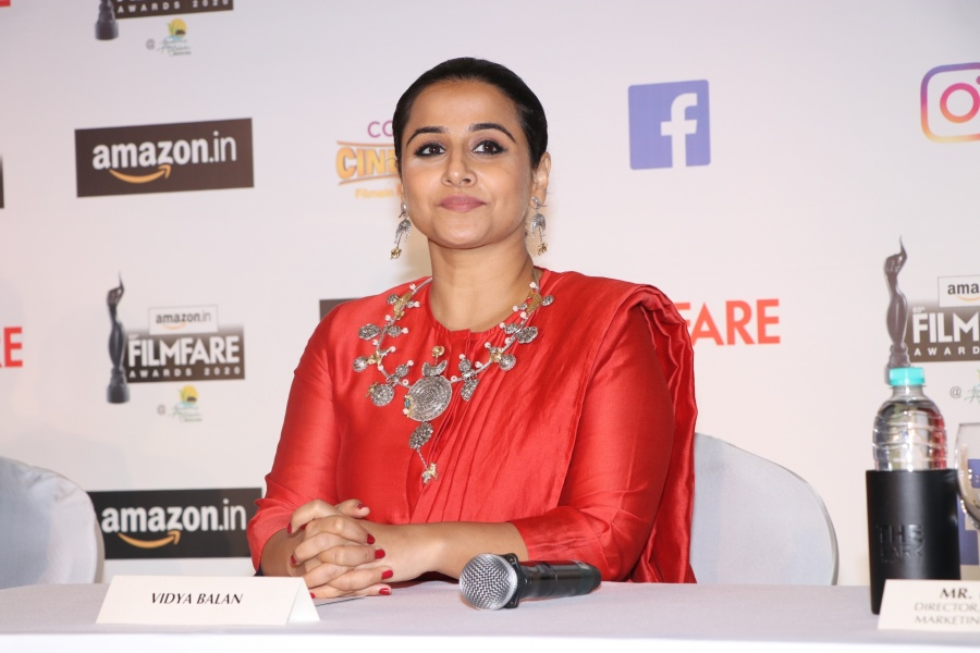 Mumbai: Actress Vidya Balan at 65th Amazon Filmfare Awards 2020 press conference, in Mumbai on Feb 1, 2020. (Photo: IANS) by .