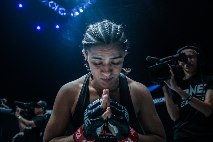 India's champion wrestler-turned-Mixed Martial Arts (MMA) fighter Ritu Phogat