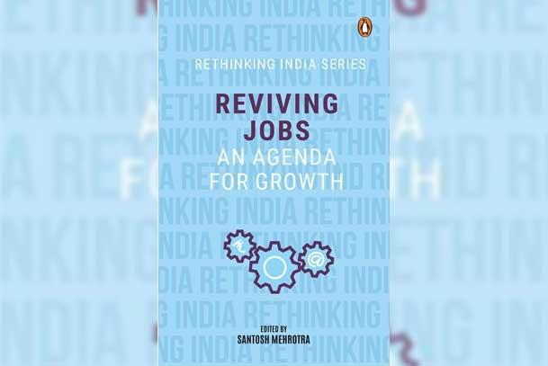 Book cover of 'Reviving Jobs: An Agenda for Growth'. by .