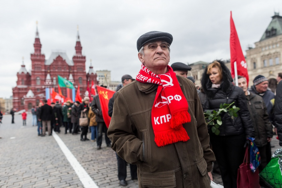 RUSSIA-MOSCOW-LENIN-ANNIVERSARY by .