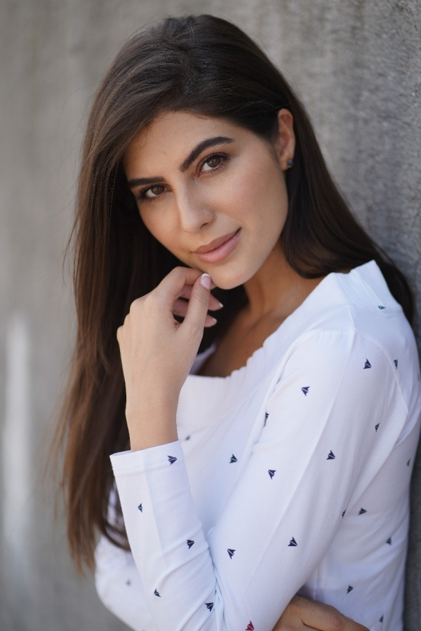 For Elnaaz Norouzi, athleisure is the way to go. by .
