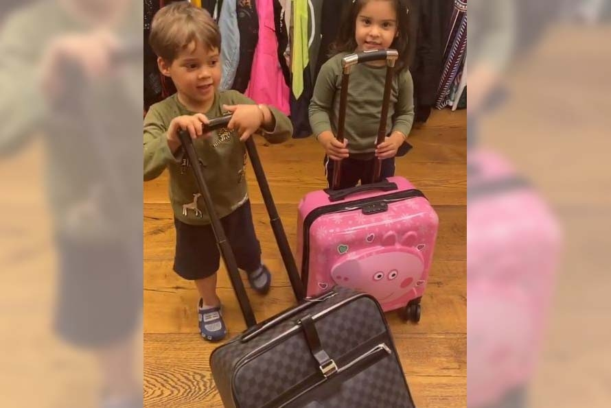 KJo's twins Roohi, Yash are 'fed up'. by .