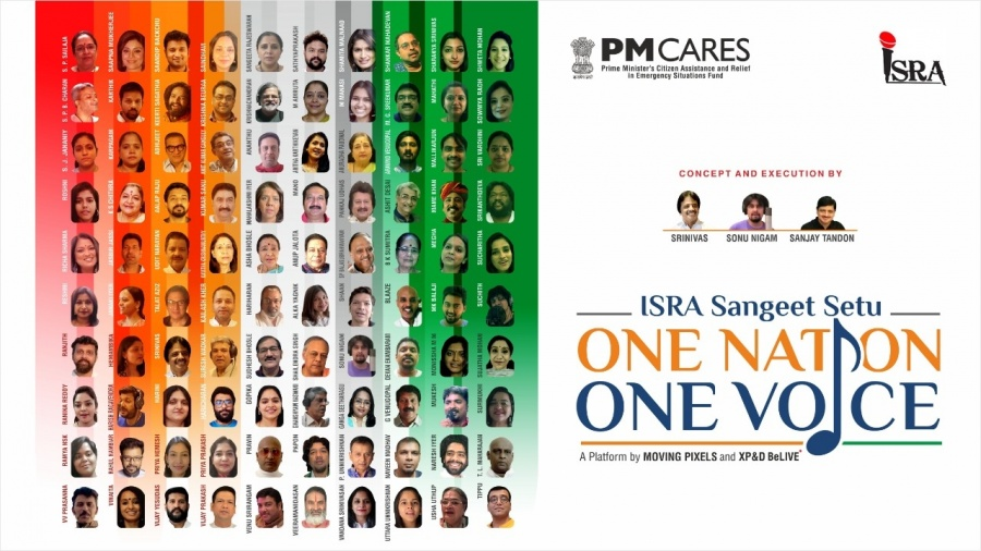 100 singers unite for 'One Nation One Voice'. by .