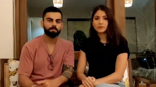 These are testing times, please stand united: Kohli, Anushka. by .