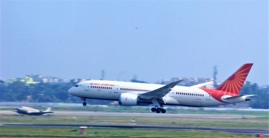 Air India - Boeing 787 Dreamliner. by .