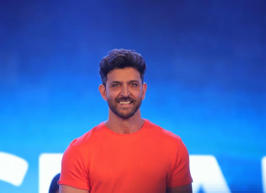 Mumbai: Actor Hrithik Roshan during a programme, in Mumbai, on June 25, 2019. (Photo: IANS) by .