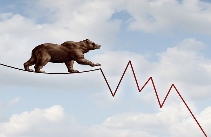 US stocks in bear grip, Dow plunges nearly 1,000 points. by .