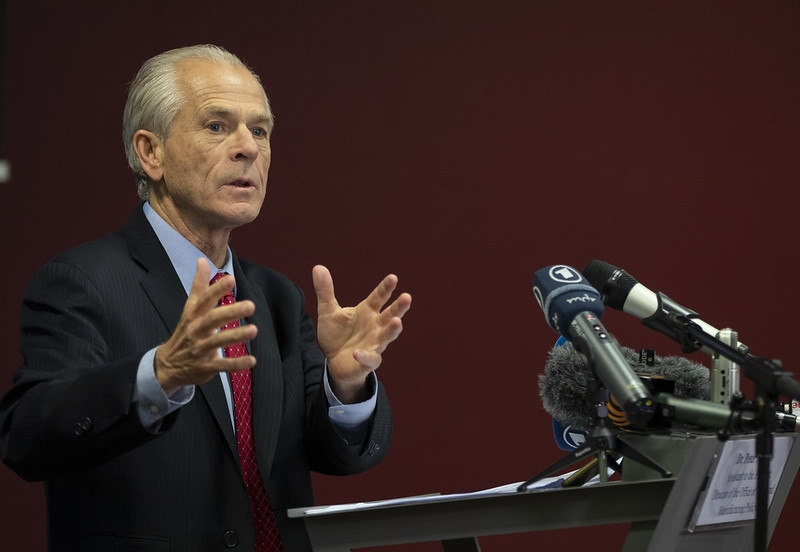 White House Trade and Manufacturing Policy Director Peter Navarro. (File Photo: US Geneva Mission/IANS). by .