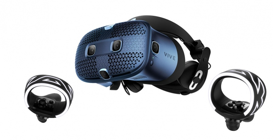 HTC VIVE Cosmos PC-based virtual reality (VR) system. by .