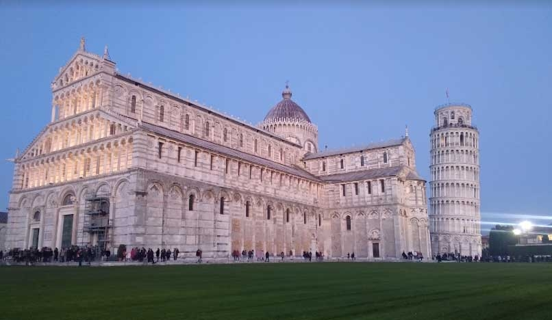 Leaning Tower of Pisa. by .