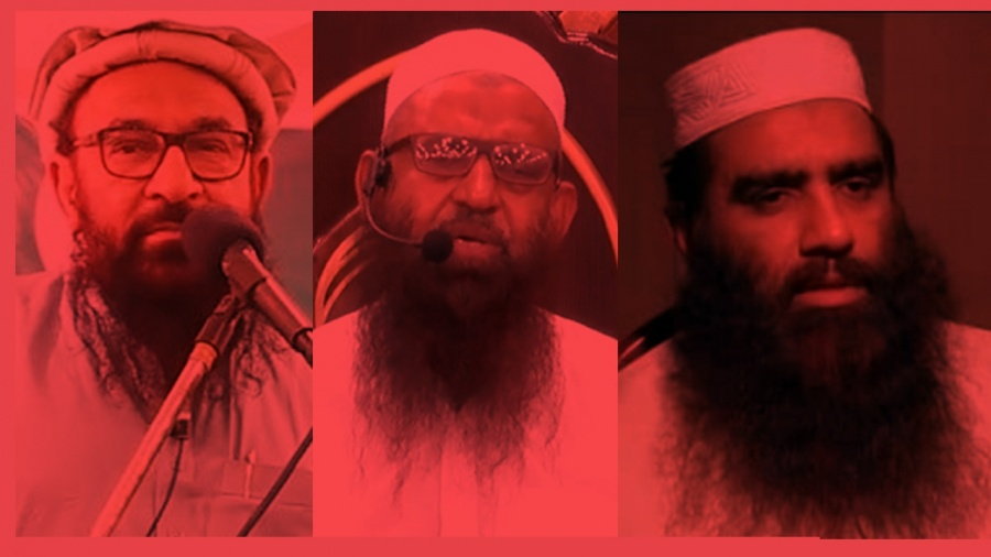 JUD leadership jailed on terror-financing charges. by .