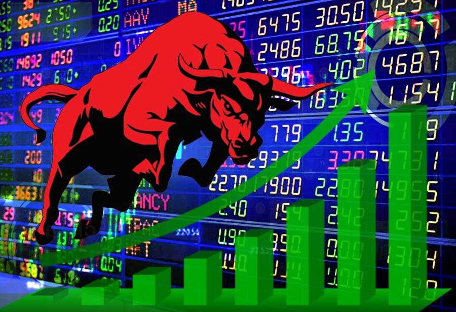 Stock Market. (IANS Infographics) by .