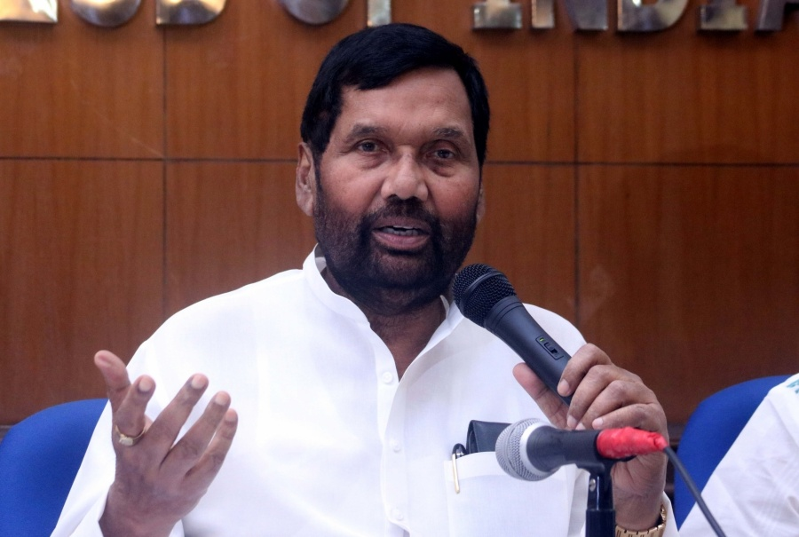 Union Consumer Affairs Minister Ram Vilas Paswan. (File Photo) by .