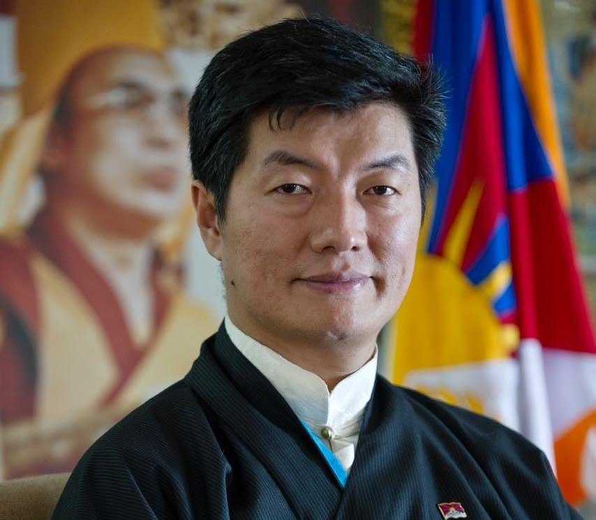 Central Tibetan Administration (CTA) President Lobsang Sangay. by .
