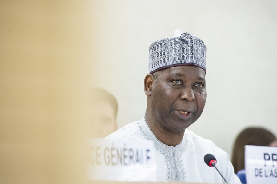 United Nations General Assembly President Tijjani Muhammad-Bande (Photo: UN/IANS) by .