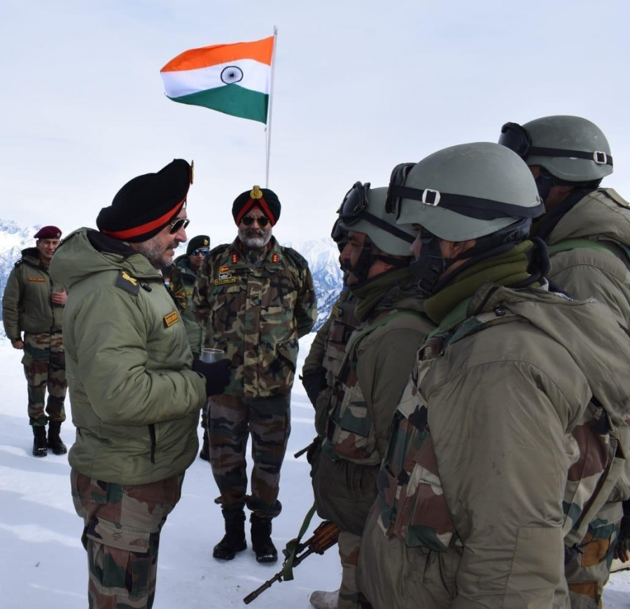 Indian Army's Northern Command chief, Lt Gen Ranbir Singh, on Tuesday visited various units on the Line of Control (LoC) in north Kashmir, as he carried out a review of the security situation in the Kashmir Valley. by .