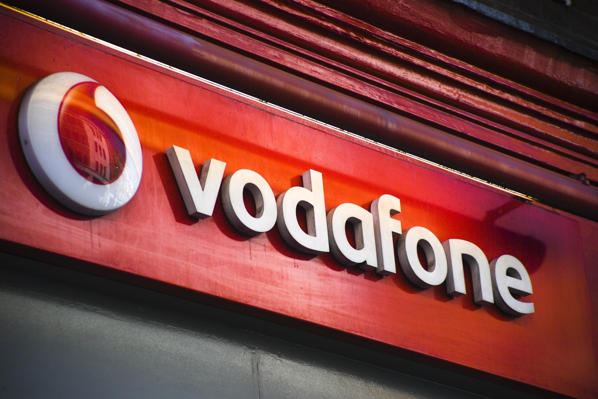 Vodafone. (File Photo: IANS) by .